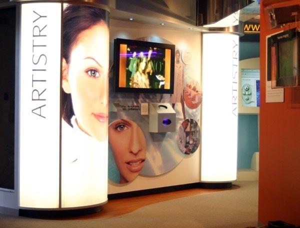 Amway Artistry Makeup Exhibit