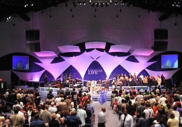 Christian Life Church Stage Design