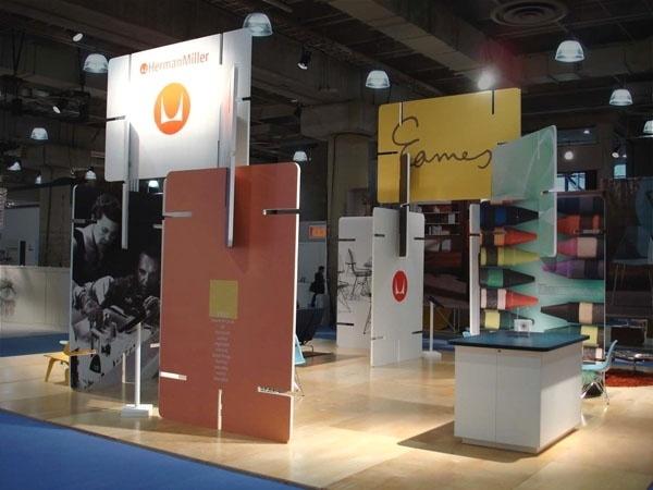 Herman Miller Trade Show Exhibit 4