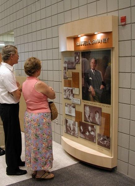 YMCA History Display