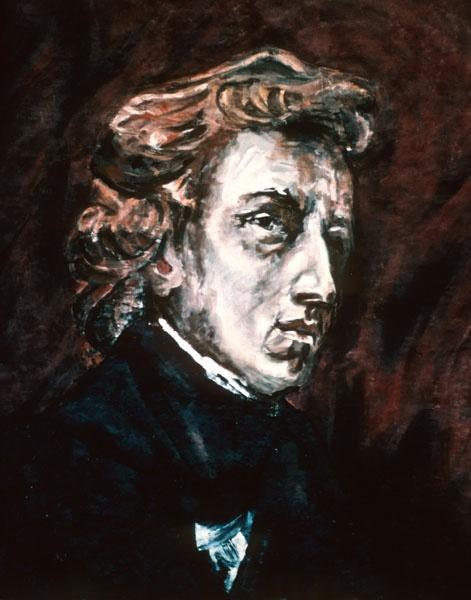 Chopin Portrait (after Delacroix)