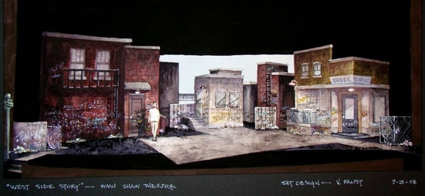 Set Design/Artwork | Artist and theatre stage designer Vincent ...
