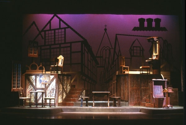 Fiddler On The Roof Set Design
